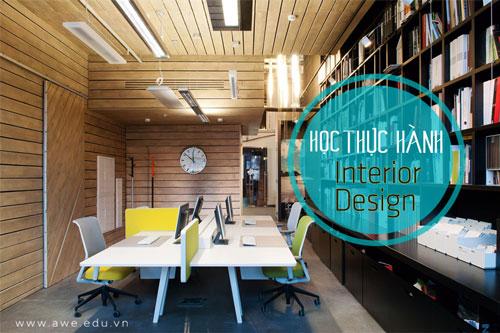 học thiết kế nội thất trang trí nội thất