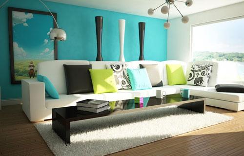 cách phối màu trong thiết kế trang trí nội thất đẹp