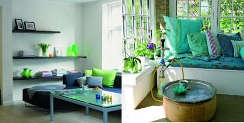 cách phối màu trong thiết kế nội thất đẹp