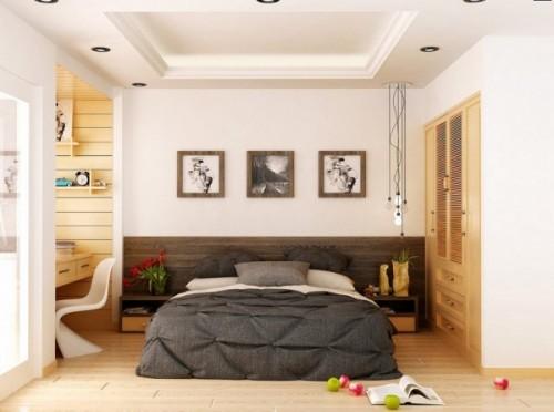mẫu thiết kế phòng ngủ phong cách hiện đại