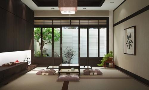 nội thất phong cách Zen Nhật Bản 1