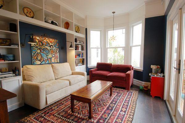 thiết kế phòng khách nhỏ, nội thất phòng khách nhỏ