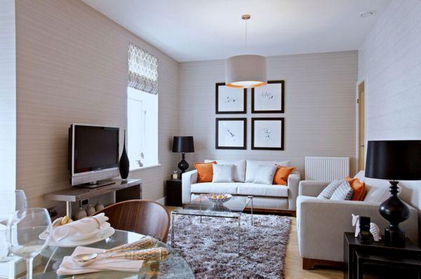 thiết kế nội thất phòng khách nhỏ đẹp