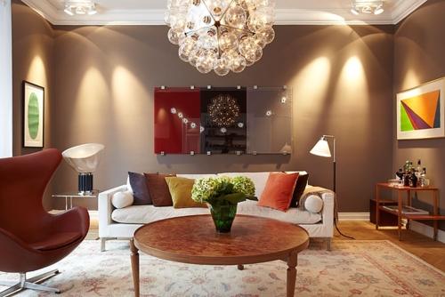 ánh sáng trong thiết kế nội thất, ánh sáng trọng tâm