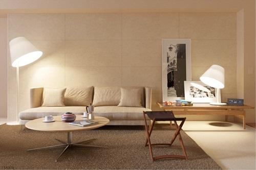 màu sắc trung tính trong thiết kế nội thất