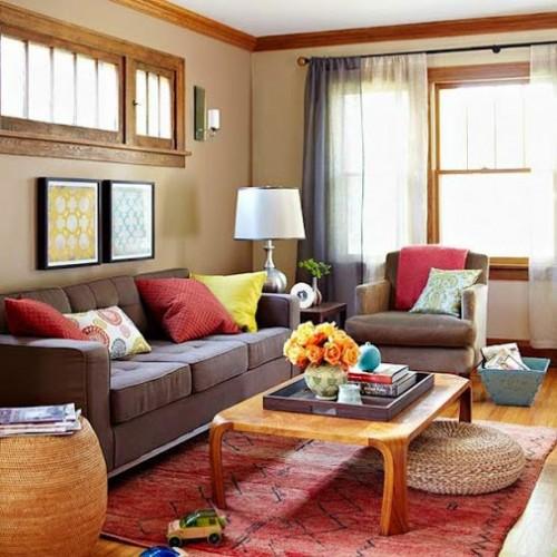 màu sắc trên các chất liệu vải trong thiết kế nội thất