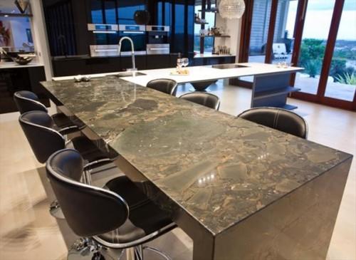 vật liệu nội thất hiện đại đá hoa cương