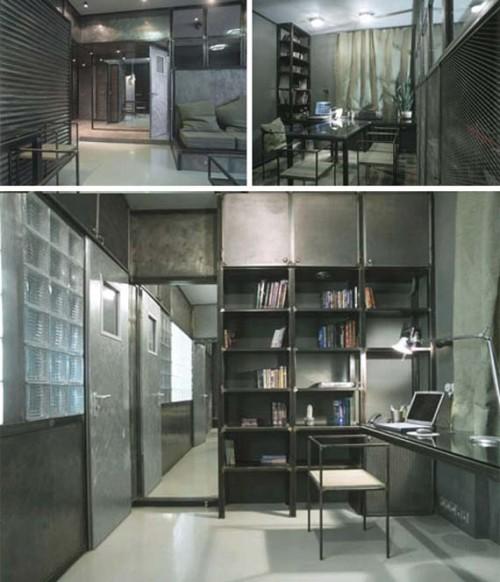 vật liệu nội thất kim loại sắt