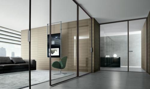 vật liệu nội thất hiện đại kính