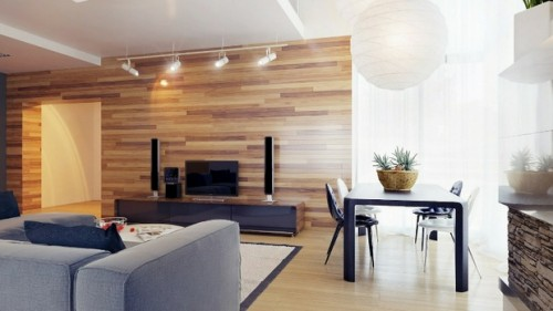 vật liệu nội thất hiện đại gỗ