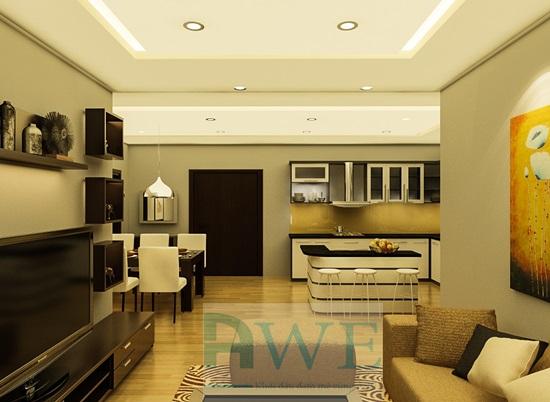 dự án thiết kế chung cư học viên Giang K33