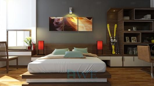 học viên AWE thiết kế nội thất