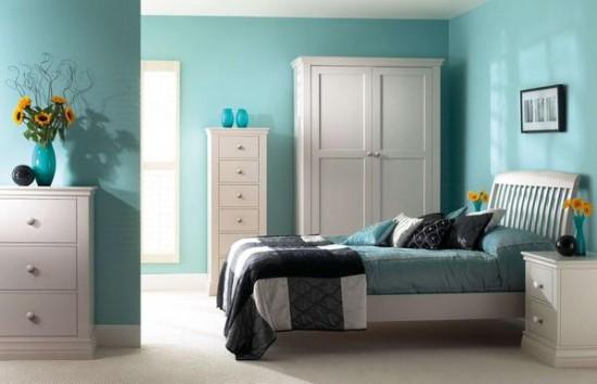 Sử dụng màu lạnh trong thiết kế nội thất