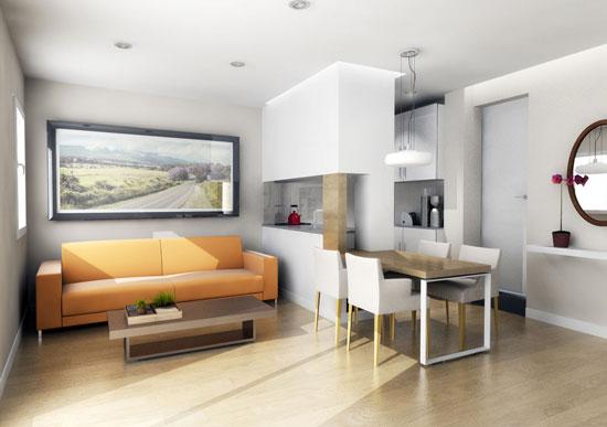 phân biệt màu nóng và lạnh trong thiết kế nội thất