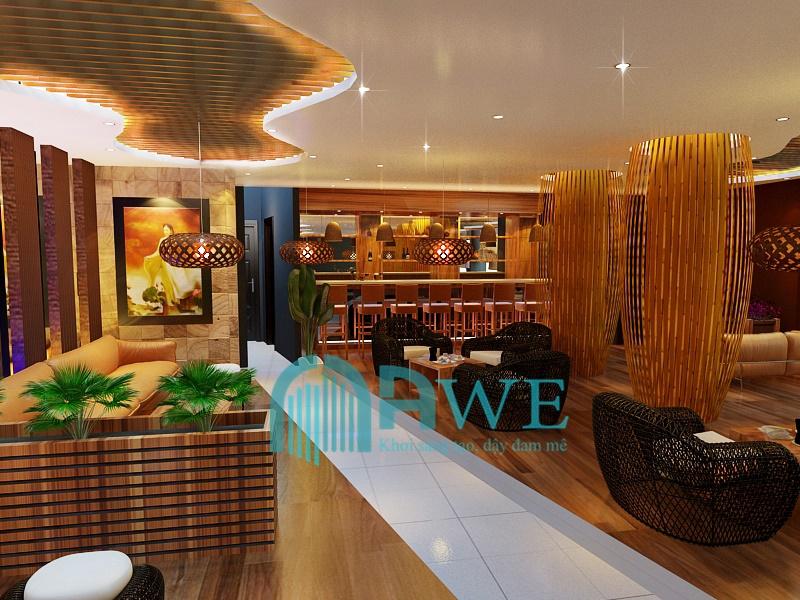 sản phẩm thiết kế nội thất học viên AWE