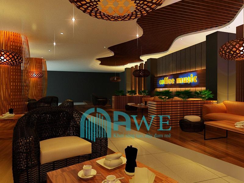 sản phẩm thiết kế nội thất học viên AWE 5