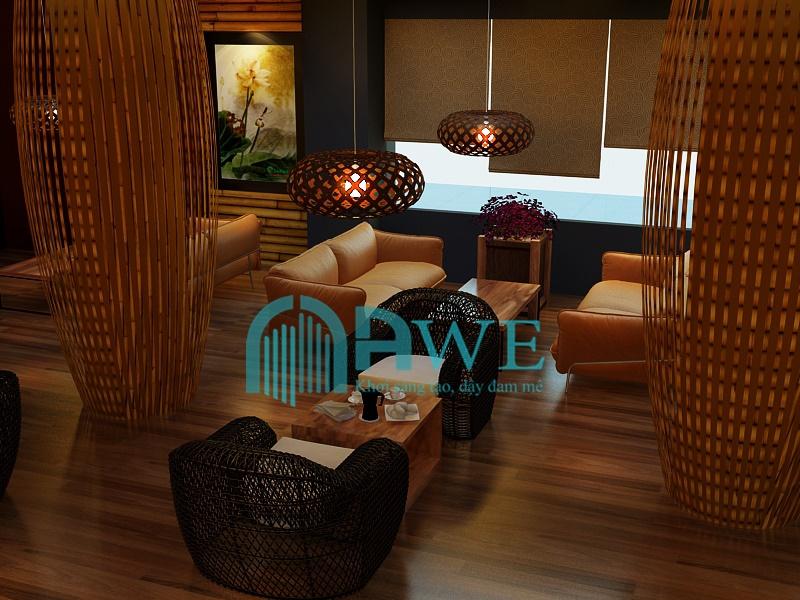 sản phẩm thiết kế nội thất học viên AWE 6