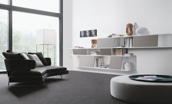 quy luật trong thiết kế nội thất, cân bằng bất đối xứng