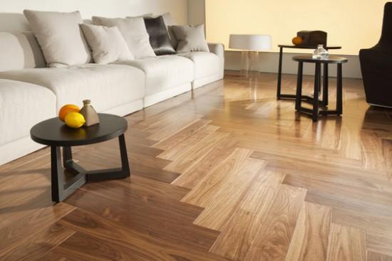 chọn vật liệu nội thất sàn gỗ công nghiệp