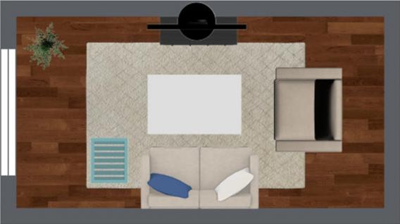 bố cục nội thất căn hộ chung cư