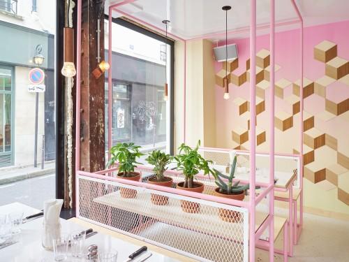 ý tưởng thiết kế nội thất nhà hàng ăn nhanh từ bãi biển