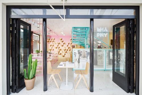 ý tưởng thiết kế nhà hàng ăn nhanh từ bãi biển tươi đẹp