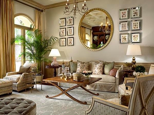 nguyên tắc thiết kế nội thất đối xứng