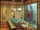 Học viên AWE thiết kế nội thất nhà hàng Nhật Bản 2