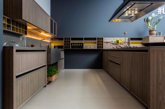 Nhân trắc học và thiết kế tủ bếp