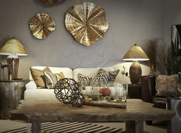 kim loại xu hướng vật liệu nội thất 2016