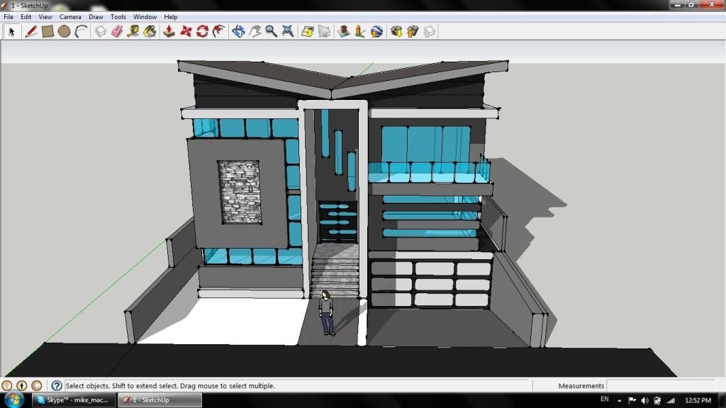 phần mềm vẽ nội thất bằng Sketchup