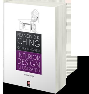 sách thiết kế nội thất có minh họa Francis D.K.Ching