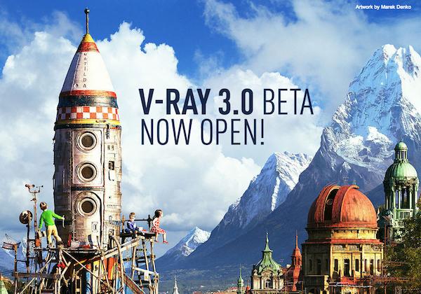 Vray mới nhất cho 3ds max và các phần mềm 3D