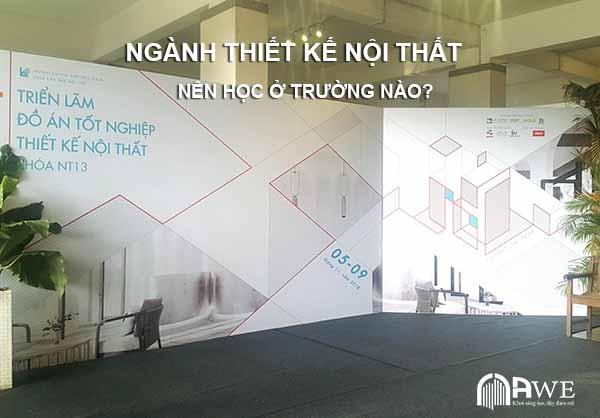 ngành thiết kế nội thất học ở trường nào