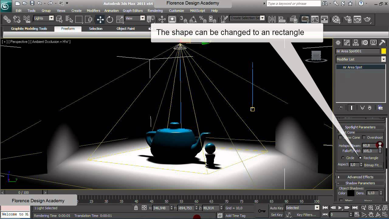 Khám phá cách để mô tả một cảnh 3D với ánh sáng khuếch tán