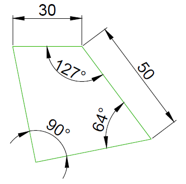 Các bài tập Autocad 2D cơ bản