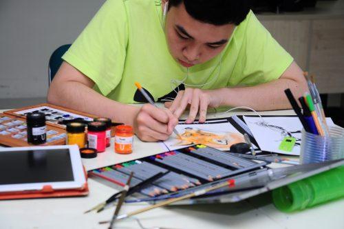 ngành thiết kế nội thất thi khối gì