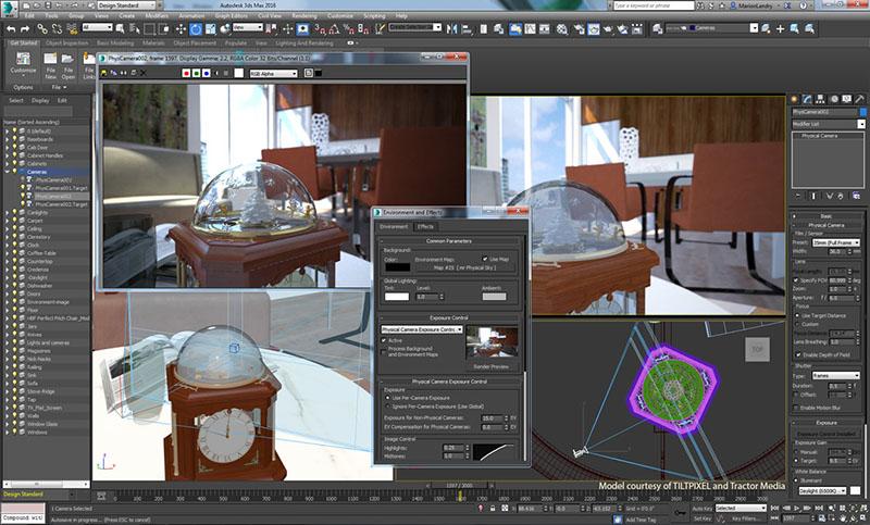 với phần mềm 3dsmax bạn không cần vẽ tay giỏi cũng có thể làm thiết kế nội thất