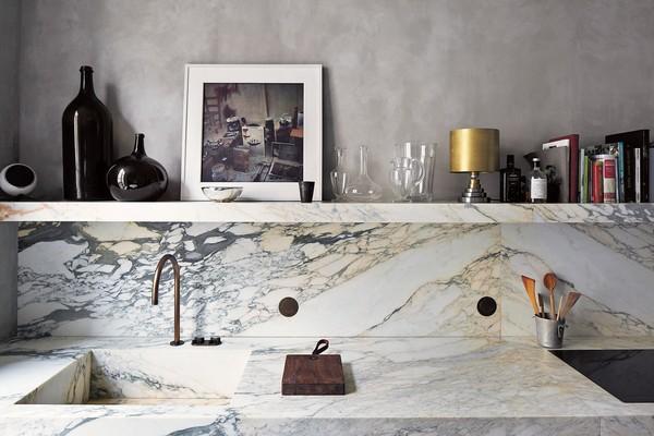 vật liệu nội thất mới 2017 đá cẩm thạch