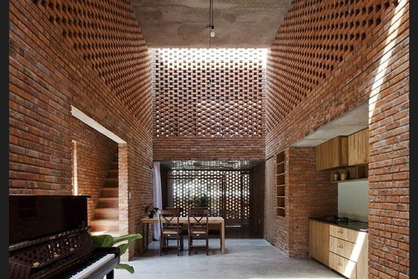 vật liệu nội thất mới 2017 gạch gốm