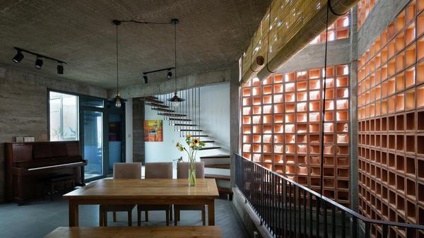 vật liệu nội thất mới đất nung