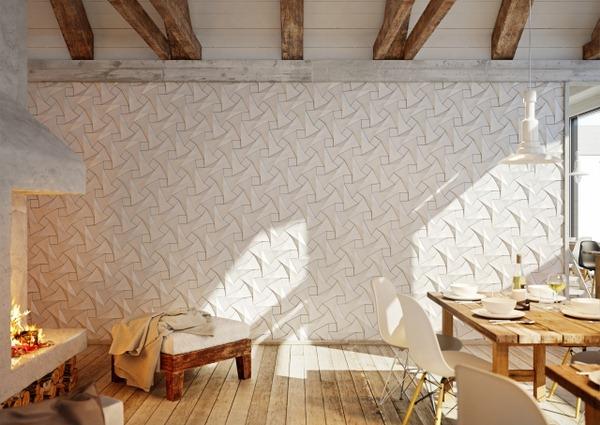 vật liệu nội thất mới ốp tường 3D