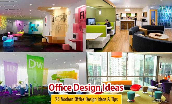 25 ý tưởng thiết kế nội thất văn phòng