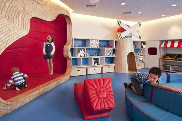 phòng giải trí cho trẻ em