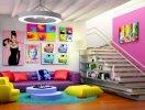 màu sắc nghệ thuật trong thiết kế nội thất