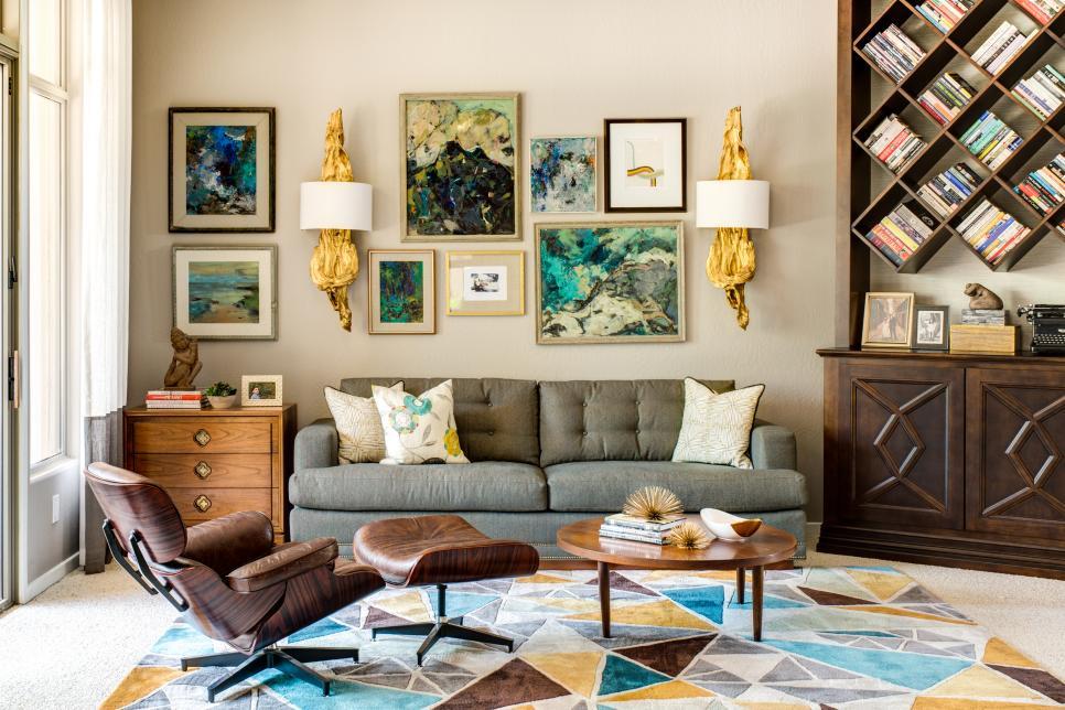 Họa tiết thêu luôn mang lại sự hấp dẫn diễn trong trang trí nội thất