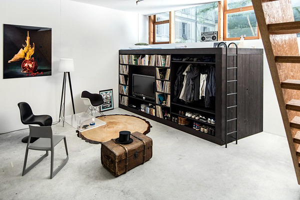 khối lập phương đa năng phù hợp với những không gian nội thất nhỏ