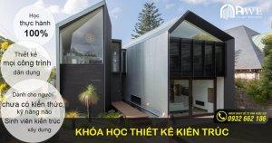 khóa học thiết kế kiến trúc ngắn hạn ở Hà Nội của AWE