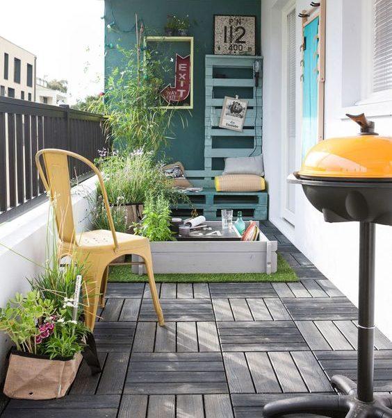thiết kế ban công chung cư đẹp 3