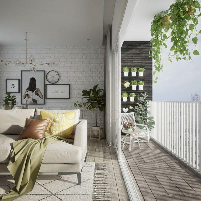 mẫu ban công chung cư đẹp